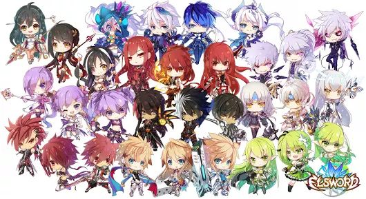 Anime Characters With Jobs : Best images about elsword ^ on pinterest anime