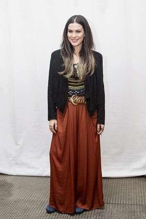 Jenni Vartiainen on musiikillisten ansioiden lisäksi tunnettu näyttävästä pukeutumisestaan.