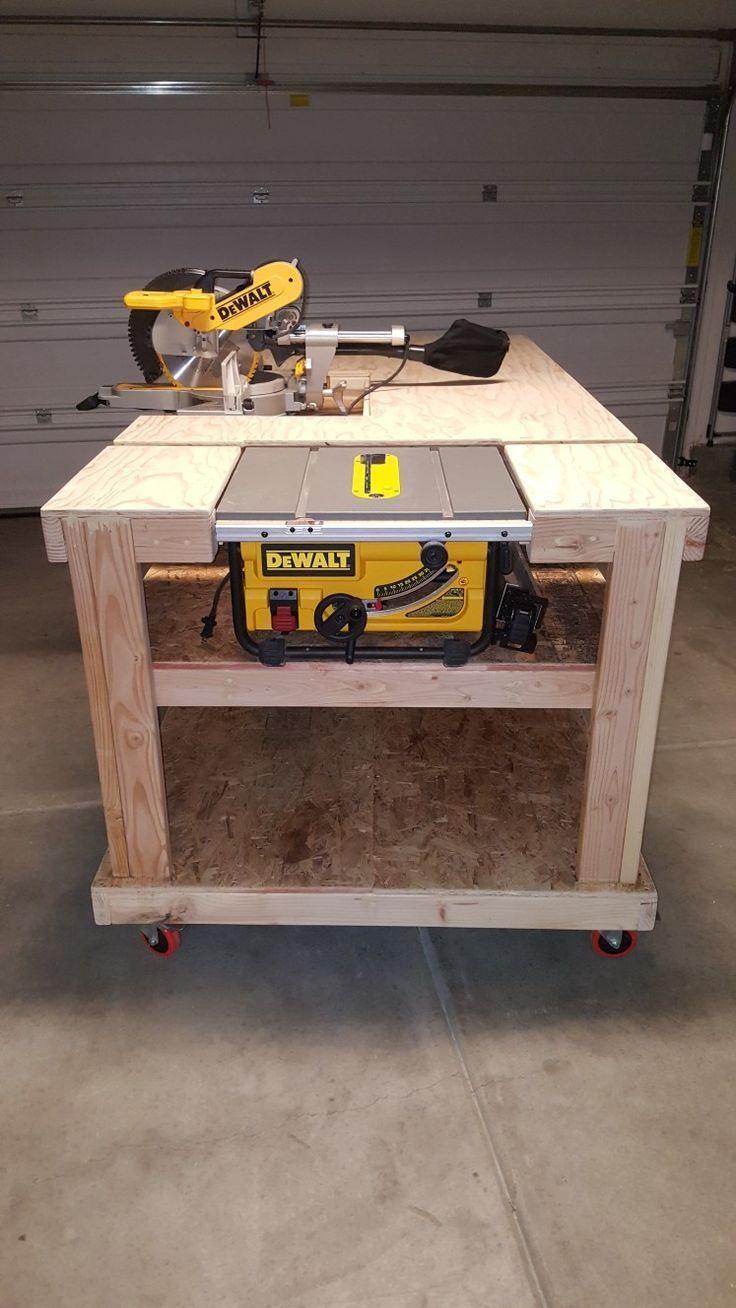 Modular workbench idea – #idea #modular #workbench