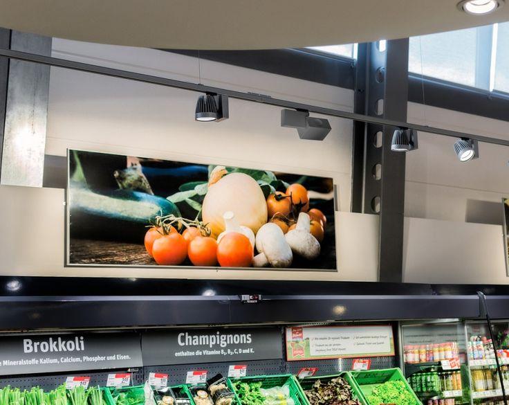 Con GRADO avete una distribuzione ottimale della #luce ed il 93 % in più del rendimento http://ow.ly/ZTUT309M3vW  #LED #fashion #food #retail Oktalite - Prodotti - Novità - Grado