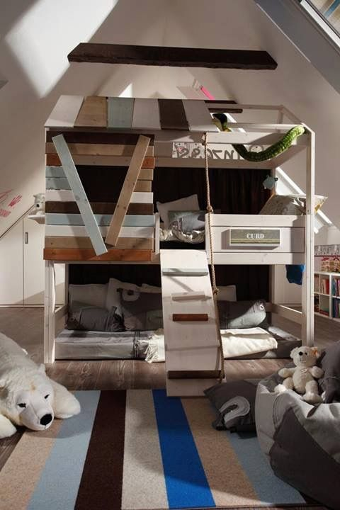 72 Best Images About Kids Treehouse Beds On Pinterest