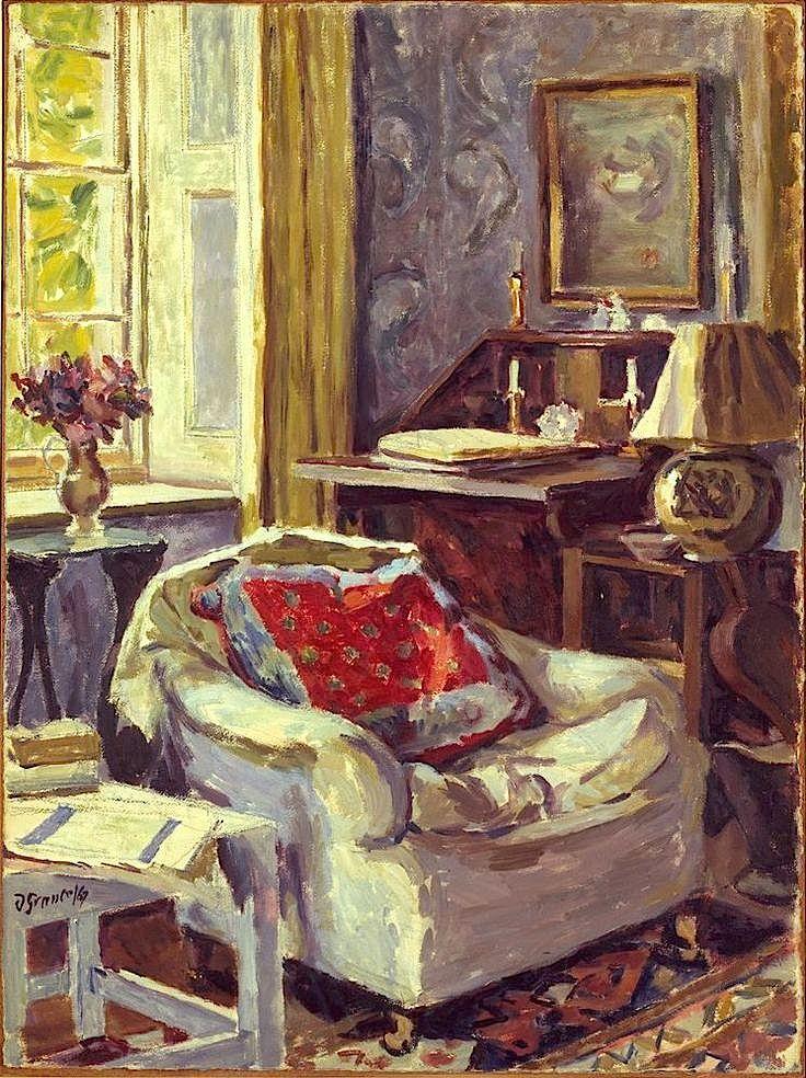 Duncan Grant Artist's Study at Charleston 1967