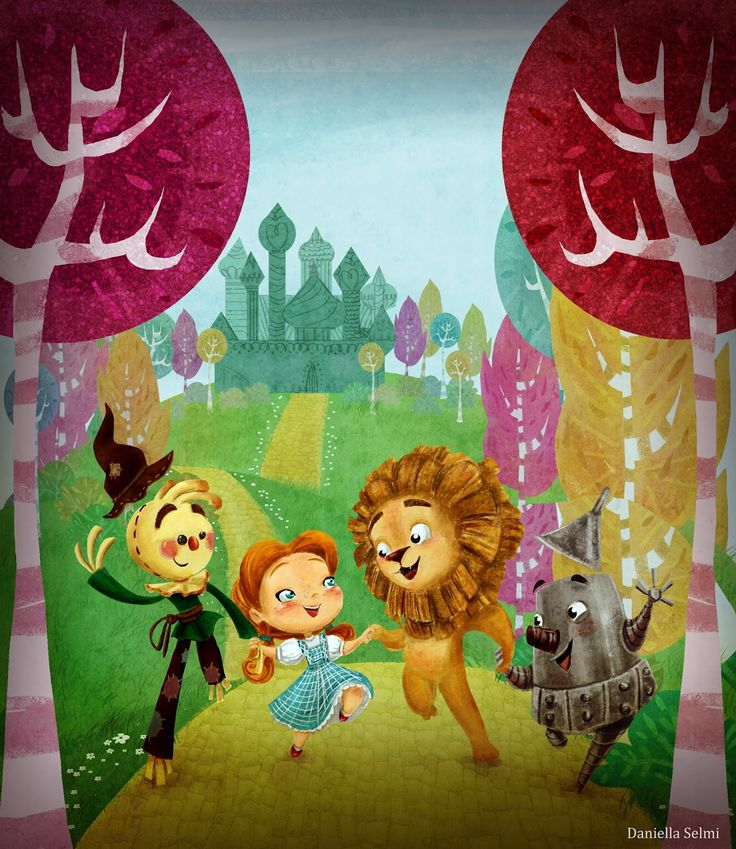#Character #Design; #Colors;Illustration; #Cute; #Kids ; #Visual #Development #Concept #Art #Wizard of #Oz