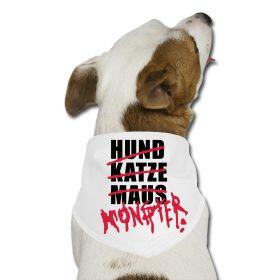 Gestalten Sie das Hunde-Bandana für ihren Hund mit ihrem Text oder Foto. Das Hunde Bandana hat eine Stoffdichte von 95 g/m² und eine  Kantenlänge von 75 x 50 x 50 cm. Das Hunde-Bandana gibt es in den Farben rot, schwarz oder weiß. Tolle Motive und günstige Preise bekommen Sie bei Unique-Shirts für Hunde-Bandana.