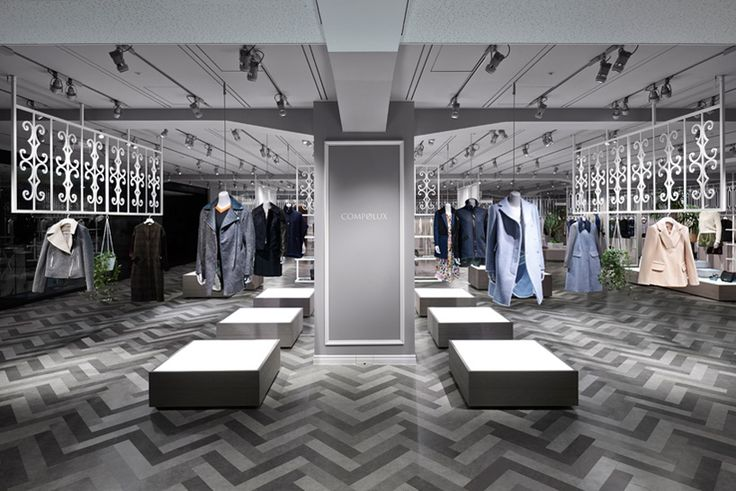 Nendo designs compolux women 39 s luxury clothing shop in - Interior design for retail stores ...