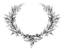 Vintage Baroque Victorian Frame Border Monogram Floral Ornament  Scroll Engraved Retro Pattern Tattoo Calligraphic Vector Heraldic - Download From Over 52 Million High Quality Stock Photos, Images, Vectors. Sign up for FREE today. Image: 74986514