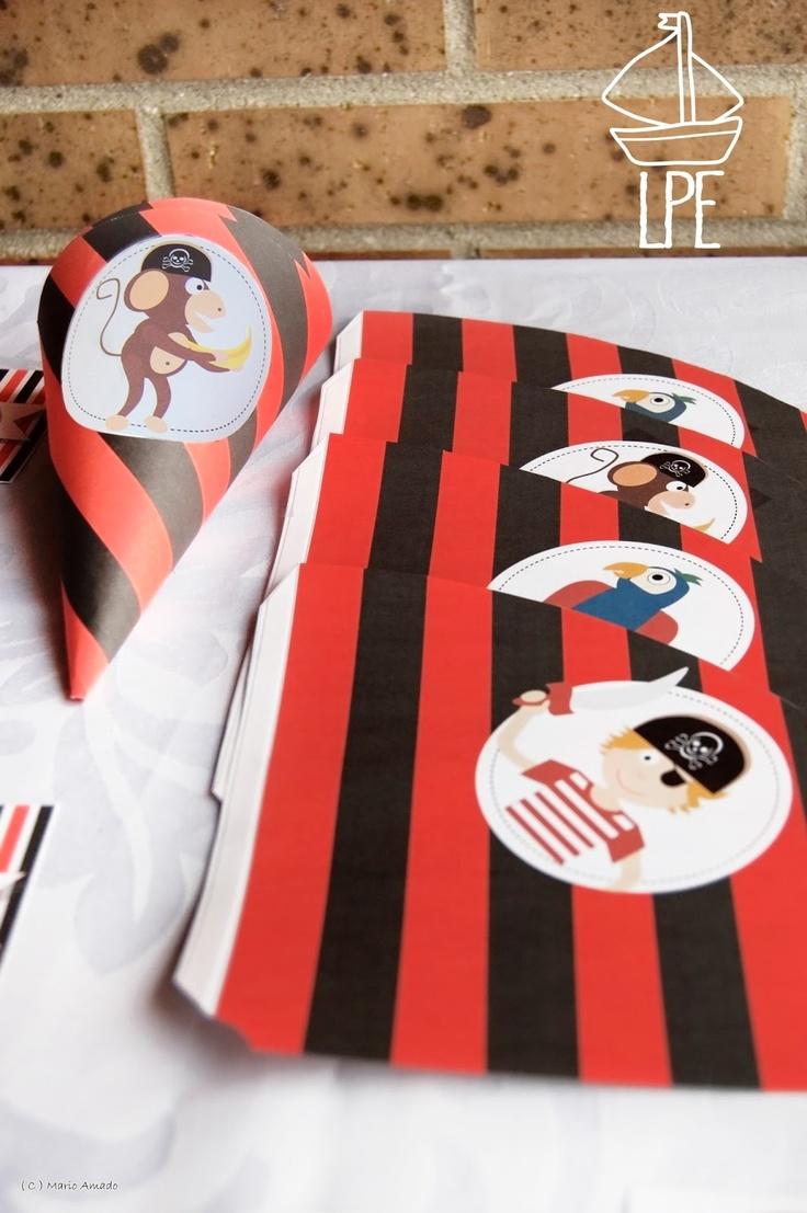 Quien quiere un kit de piratas decoraci n para fiestas - Decoracion para peceras ...