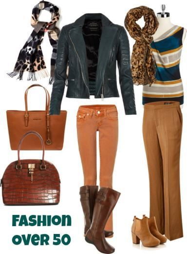 Fashion Over 50 inspiration - this post is full of fashion tips for women over 50 who still want to be fabulous!