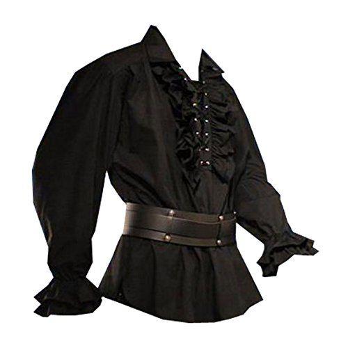 #Baumwollhemd #Rüschenhemd #Hemd #Gothic #Gr. #S #1336 #Schwarz Baumwollhemd Rüschenhemd Hemd Gothic Gr. S 1336 Schwarz, , , , , ,