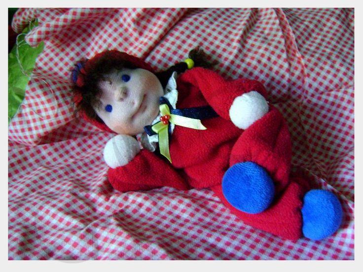 Waldorfská bábika Simonka