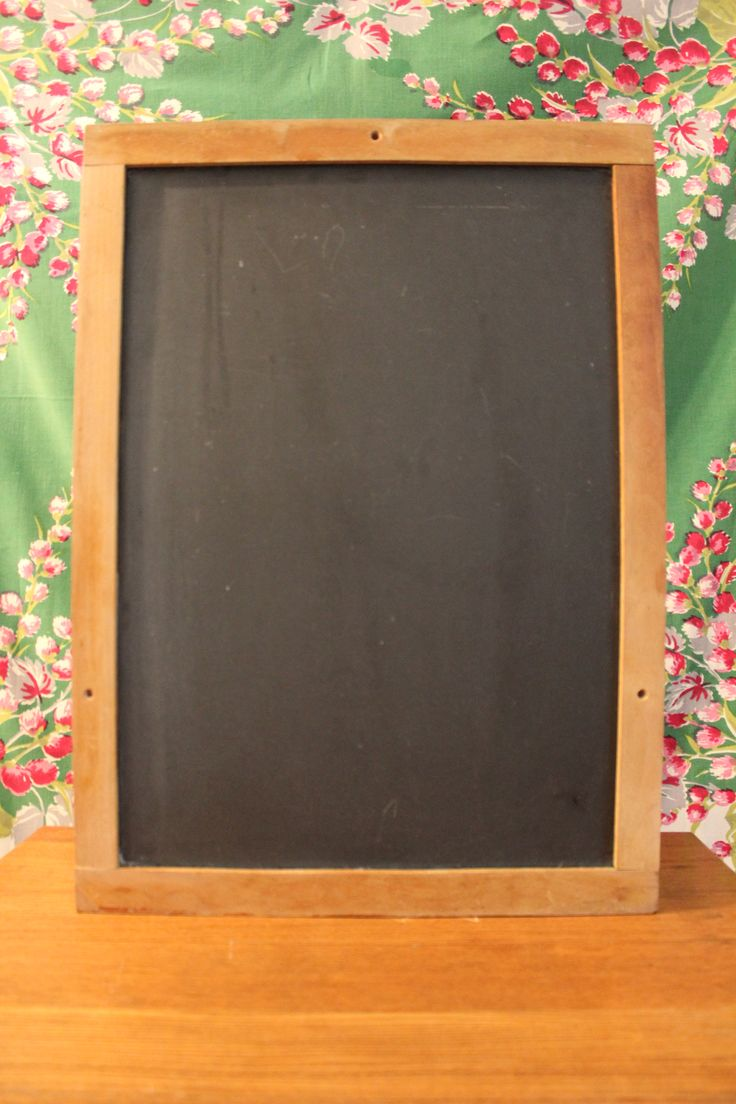 Chalkboard Display a welcoming message, a seating chart, or romantic quote!