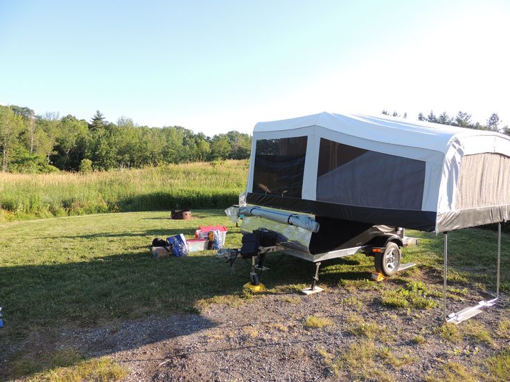 Camping Bronte Creek provincial park in Ontario terrain # 434 (2014)