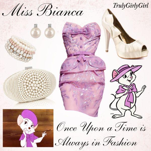 """Disney Style: Miss Bianca"" by trulygirlygirl on Polyvore"