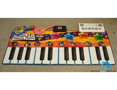 Giant Floor Piano, Electronic Organ, Wiggles and Dora Guitars ( all tested and working with batteries installed