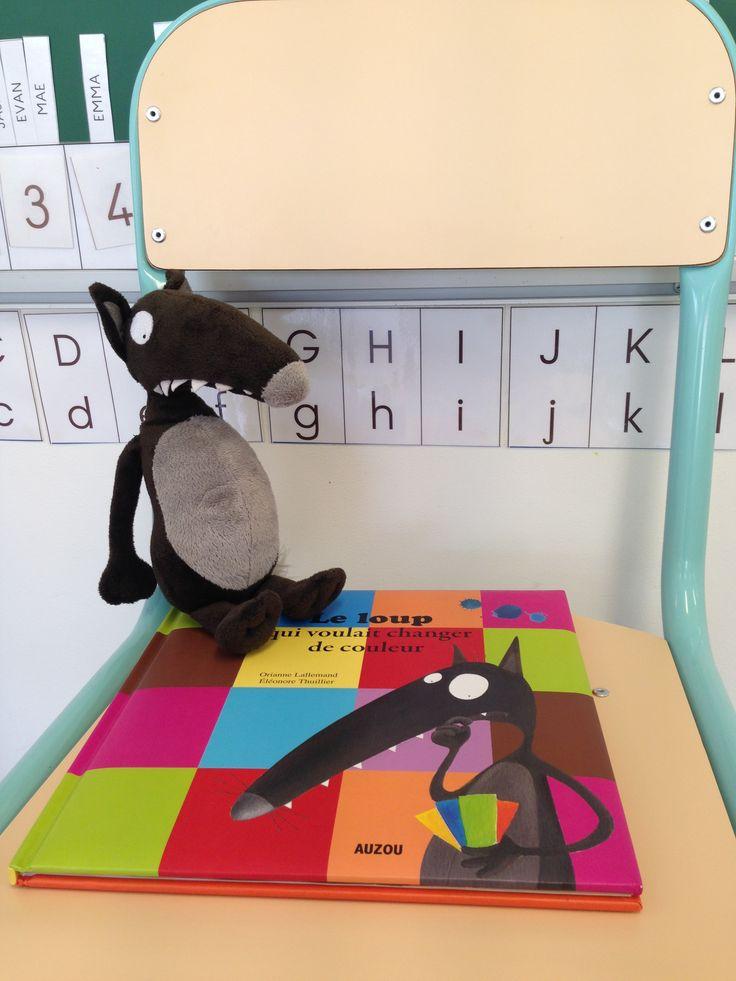 Le loup qui voulait changer de couleur (Période 2) MS   La Maternelle De Wendy