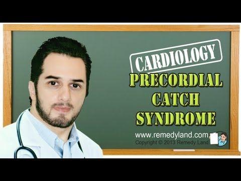 Precordial catch syndrome or Texidor's Twinge.