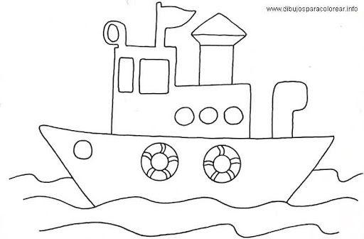 De Transportes Dibujos De Medios De Transporte Para Colorear Y A ...