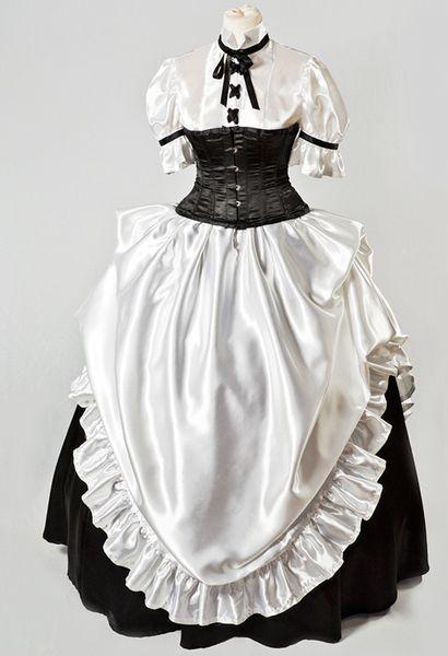 Kleid+im+Cosplay/Gothic+Lolita+Stil+von+BonnyChi+auf+DaWanda.com