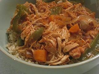 Dinner - Slow Cooker Chicken Ropa Vieja