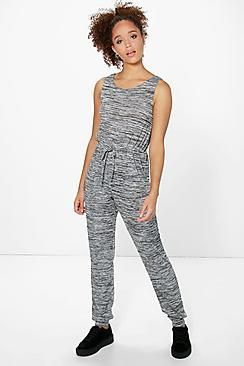 Rose Sleeveless Knitted Jumpsuit