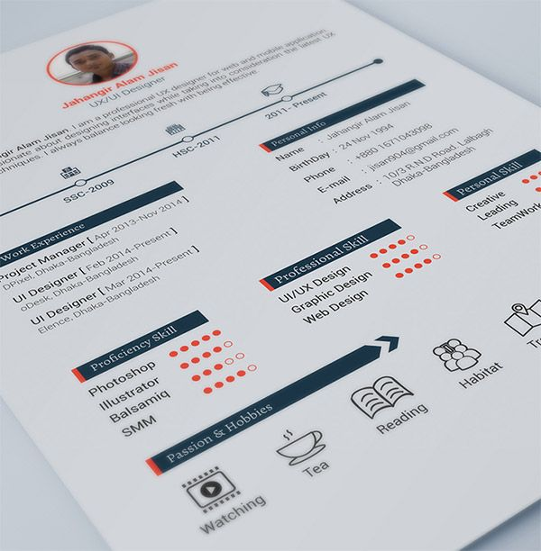 Best  Resume Invoice Proposal Designs Etc Images On