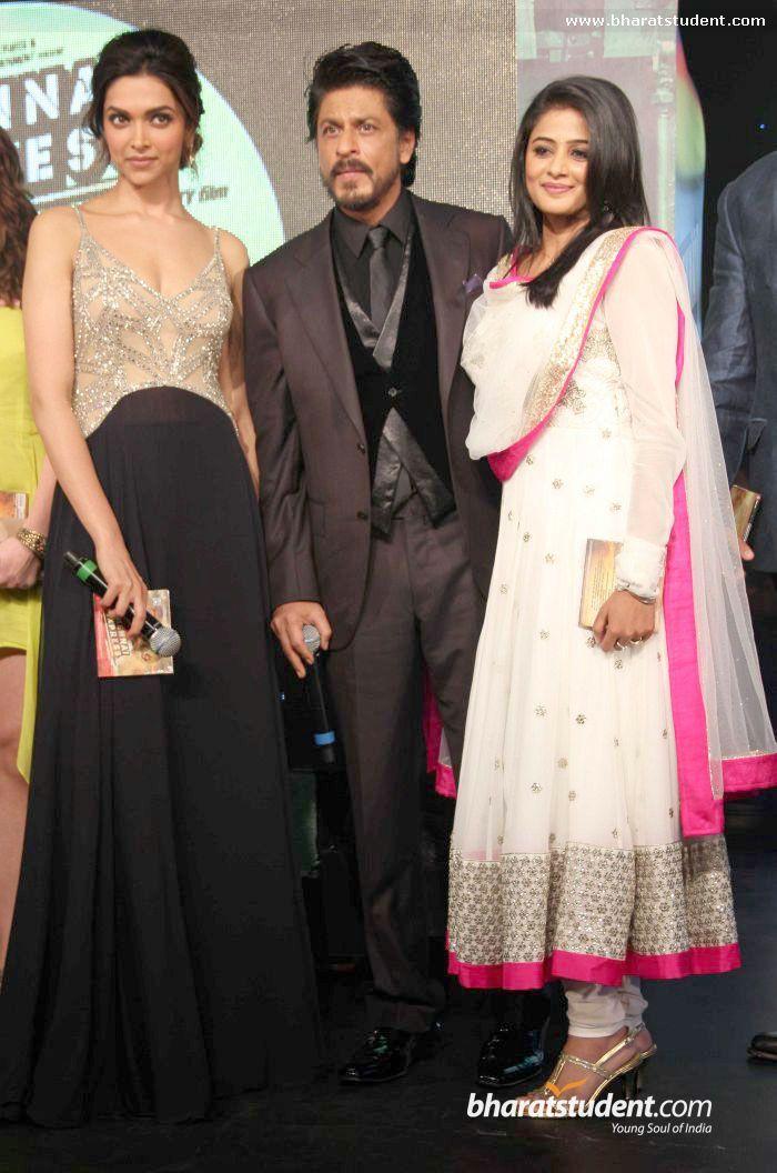 Deepika Padukone, Shahrukh Khan, Priyamani