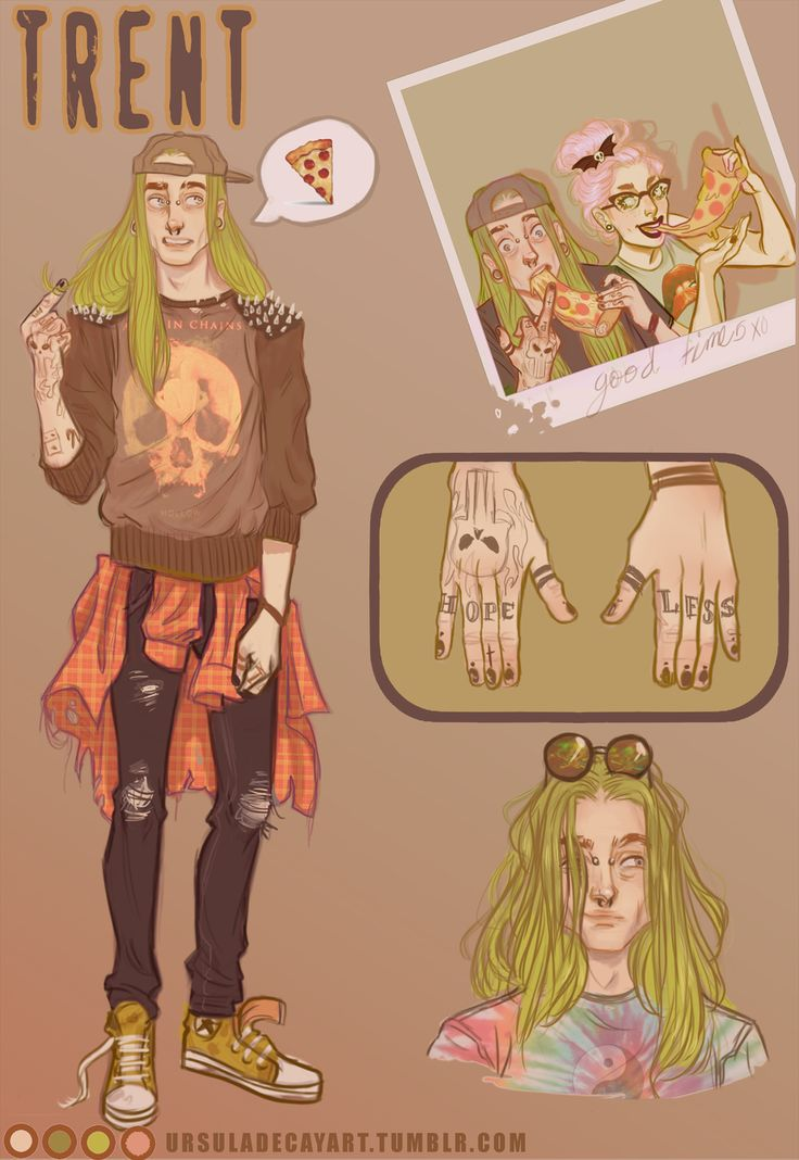 Adoptable :Trent by UrsulaDecay on @DeviantArt