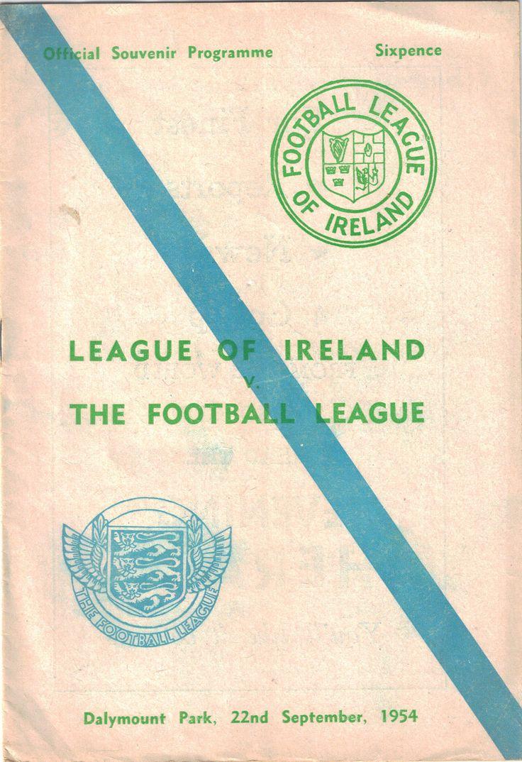 1954 League of Ireland v The Football League
