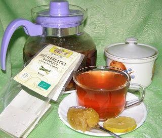 W Mojej Kuchni Lubię.. : zdrowa i smaczna bio herbata owocowa z trawą cytry...