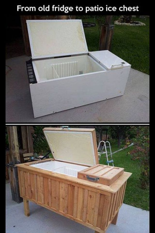 DIY- party cooler for your deck/patio