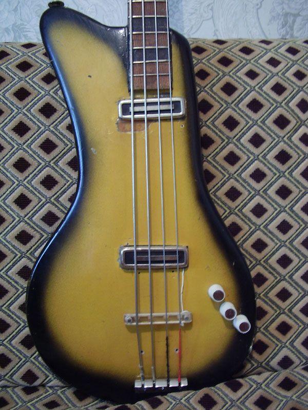 Hand Made Bass Guitars | Handmade bass guitar from USSR