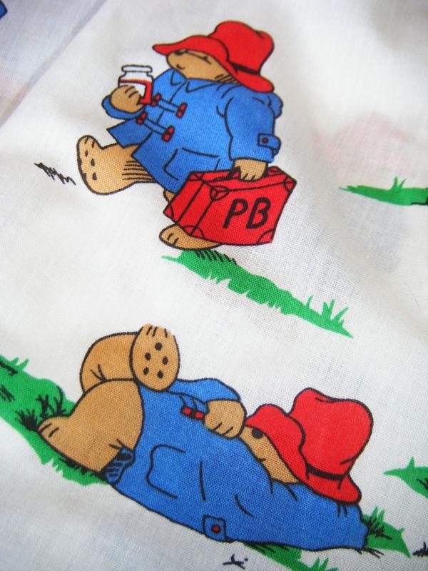 Vintage Paddington Bear fabric