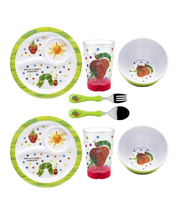 Very Hungry Caterpillar Dinnerware Set by The World  sc 1 st  Pinterest & 204 best kids dinnerware \u0026 silverware....ect. images on Pinterest ...