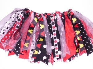 Scrap Skirt - Mickey Mouse ~ must make for next trip! by june