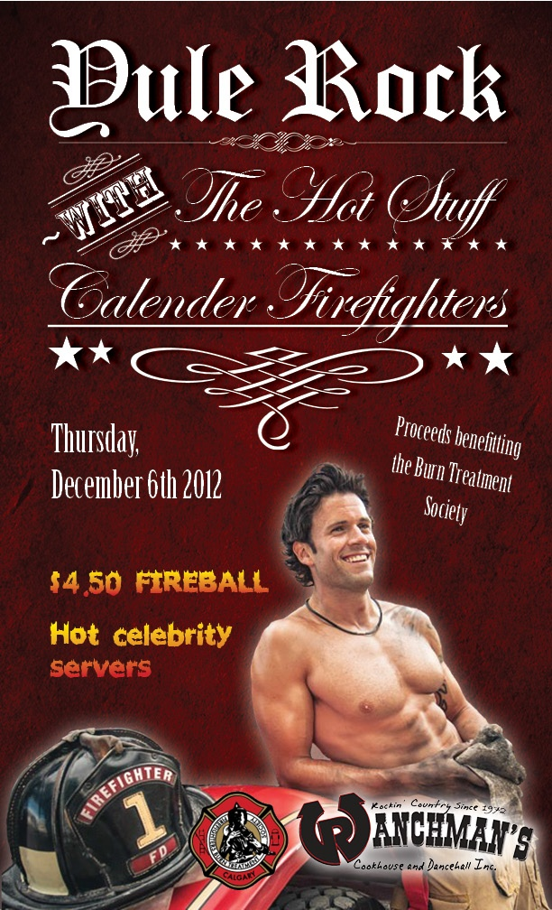 Yule Rock - Hot Stuff Calender Firefighters - December 6th
