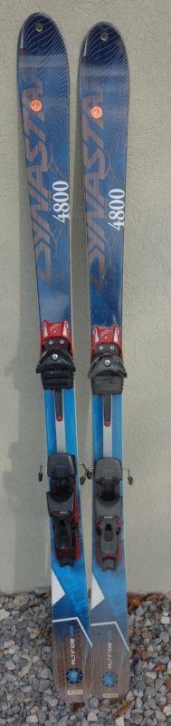 Ski de randonnée Dynastar Altiride 4800, fixations classiques, taille 1m60