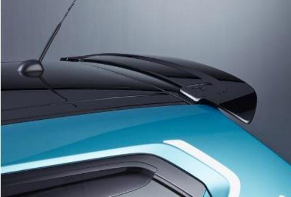 Suzuki Ignis Rear Upper Spoiler Super Black Pearl Metallic
