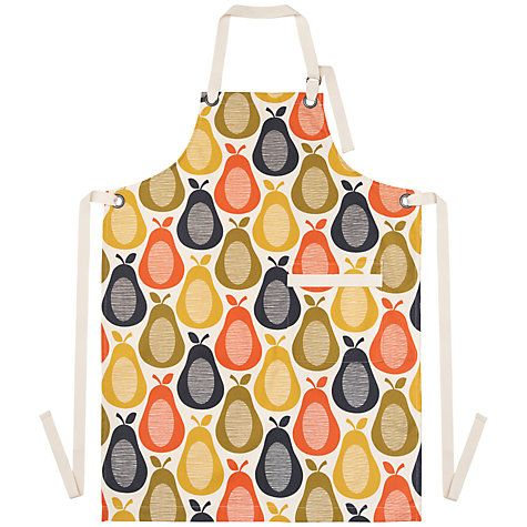 Buy Orla Kiely Pear Apron Online at johnlewis.com  Any Orla Kiely pattern