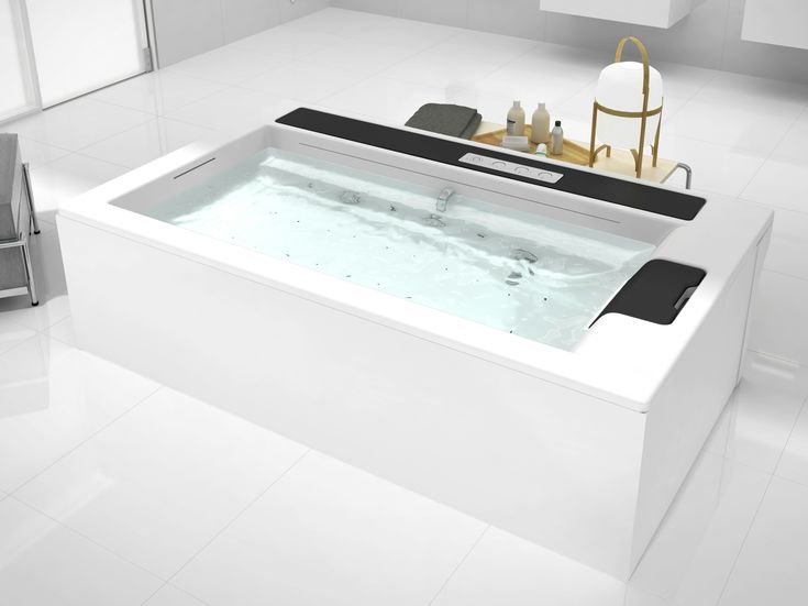 139 best Bad - Wanne images on Pinterest Bathtubs, Bathroom and - whirlpool badewanne designs jacuzzi
