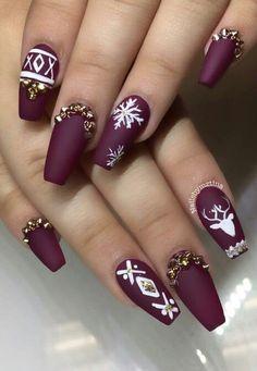 Ich denke, das werden meine Weihnachtsnägel sein – Make Up & Nails
