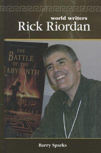 Rick Riordan (World Writers) by Barry Sparks,http://www.amazon.com/dp/1599353504/ref=cm_sw_r_pi_dp_p0lHtb0572JENZS9