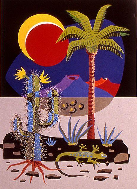Fundación César Manrique - Sin título, 1989
