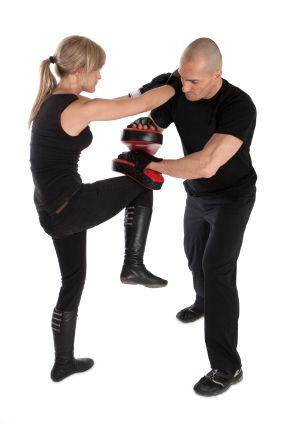 Take a self-defense class  http://www.brooklynbjj.com/