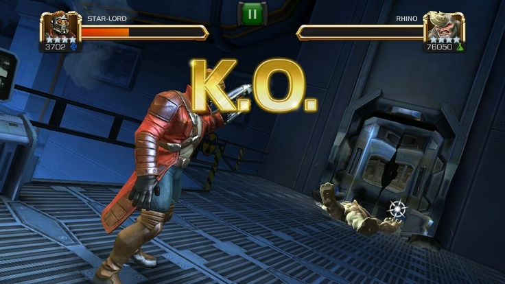 Star Lord vs Rhino