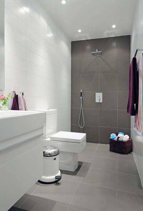 Fine 17 Best Ideas About Grey Bathroom Tiles On Pinterest Gray Inspirational Interior Design Netriciaus