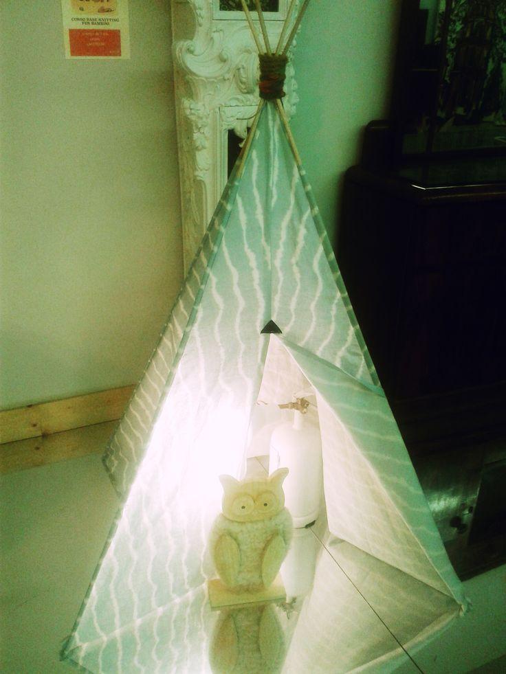 riti magici nella tenda del capo tribù :-)