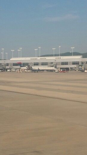 First look at BHM Airport.