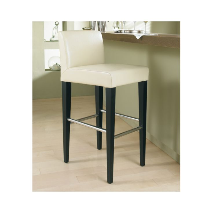 Leather Stools With Back Leather Counter Stool Low Back
