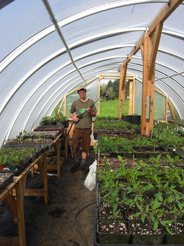 diy hoop greenhouse - 8x10 Hoop House Plans