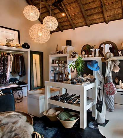 You could very easily lose yourself in the One Life with MORE Safari Boutique, which has been very carefully thought out to present a full range of goods for people who appreciate beautiful things. #LionSands #RiverLodge #LuxuryLodge #LuxuryTravel #MOREplaces #OneLifewithMORE
